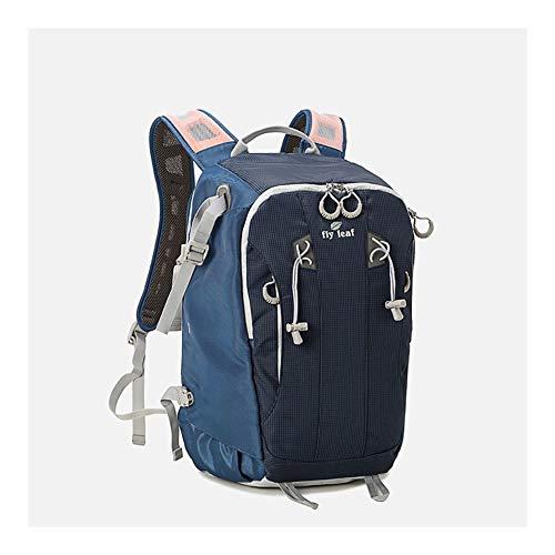 Kamerarucksäcke Multifunktional Stylischer Camcordertaschen SLR Digitalkamera Taschen Passend Für Jugendliche Mädchen Jungen (Color : Blue)