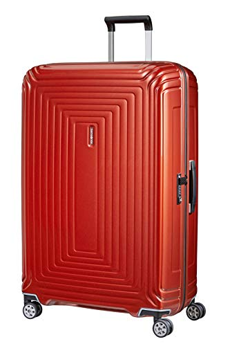 Samsonite Neopulse - Spinner XL Maleta, 81 cm, 124 L, Rojo (Metallic Intense Red)
