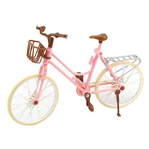 PULABO Fingersimulation Mountainbike Miniatur Fahrrad Kinder Spielzeug Spiel Geschenk Rosa Zuverlässige Qualität Vorteil