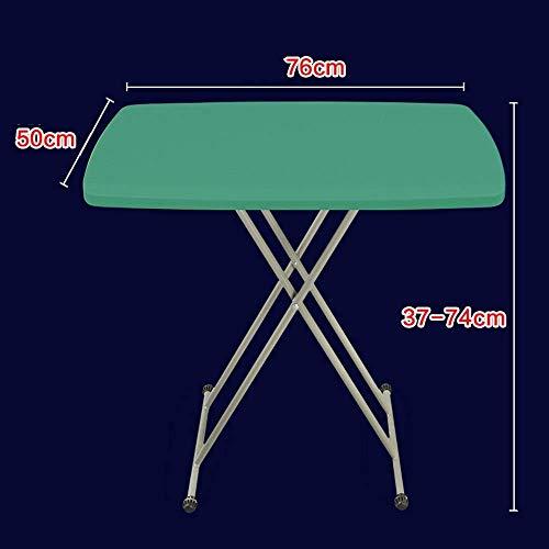 WTT Vouwtafel Draagbare verhogende tafel Vouwen multifunctioneel bureau Eenvoudige draagbare bureau, Stal, Outdoor vouwen (Kleur: grijs)