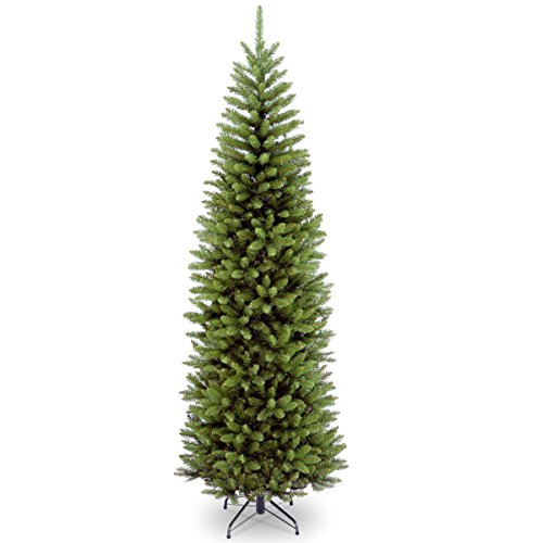 National Tree 7 Foot Kingswood Fir Pencil Tree, Hinged (KW7-500-70)