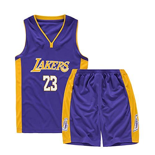 Uniforme de Baloncesto para niños, Durant Curry Jordan Irving James Harden Thompson Camiseta de Baloncesto Estadounidense Miami New York Chicago,ibra de poliester-24-XS