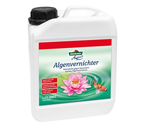 Dehner Aqua Algenvernichter, 2500 ml, für ca. 75.000 l