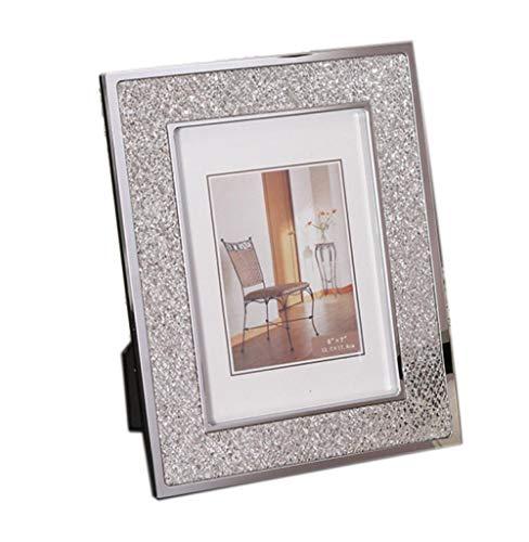 Gerenic fotoalbums familiefotolijst van knutselen luxe metalen fotolijst vintager bruiloft fotolijst