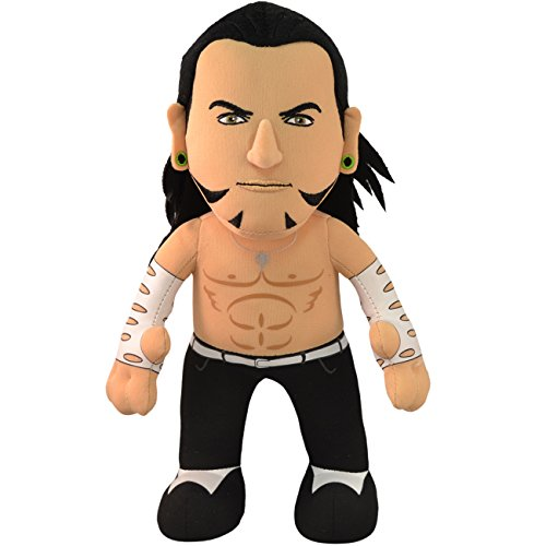 Bleacher Creatures WWE Jeff Hardy 10' Plush Figure- A Wrestling Star for Play or Display