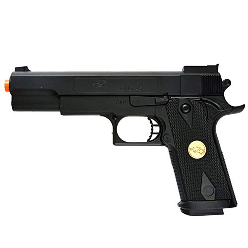 Double Eagle A&N 275FPS P169 1911 Airsoft Hand Gun Full Size Spring Pistol w 6mm BBS BB Fantastic Starter Airsoft Pistol Government .45