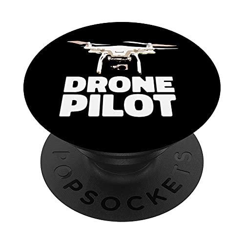 Drone Life Pilot Quadricottero RC PopSockets PopGrip Intercambiabile
