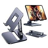 JXCAA 1 Pezzo Porta Cellulare,Supporto per Tablet,Stand da Tavolo per Online E Video,Design Stabile, Antiscivolo, Entro 4-13 Pollici Compatibile Attrezzatura