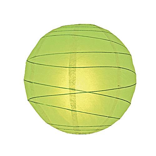 Lighting Web Abat-jour en papier irrégulier Citron vert 40 cm