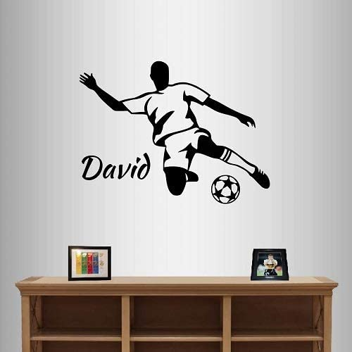 Wall Vinyl Decal Home Decor Art Sticker Football Players Sport Boy Guy Teen Team Room Bedroom Mural Unique Design 1613