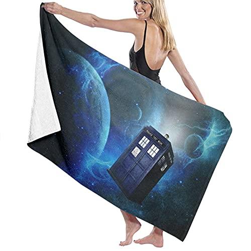 Doctor Who - Toallas de playa de microfibra ultra absorbentes para hombre y mujer