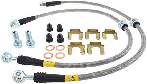 StopTech Evo 8 And 9 Stainless Steel Front Brake lines (950.46005)
