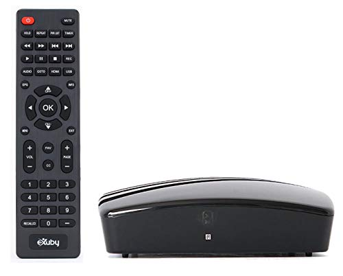 Get Rid of Cable - Use this eXuby Digital TV Converter Box for TV to View and Record Full HD Digital Channels at no Cost (Instant or Scheduled Recording, 1080P HDTV, HDMI Output) with RCA Cable