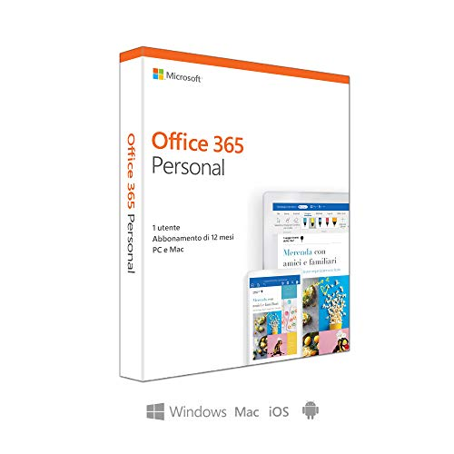 Microsoft Office 365 Personal P4 (1 Benutzer/ 3 Devices/ 1 Jahr) IT Mac/Win