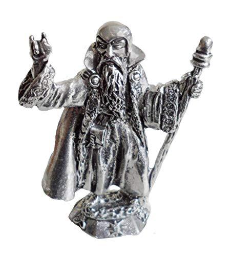 Figura de Merlín el Mago.