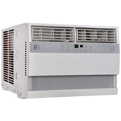 Perfect Aire 12,000 BTU 115-Volt Flat Panel Energy Star Window Air Conditioner, Full-Function Remote, Installation Kit, 550 sq. ft.