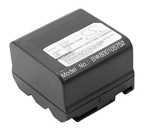 vhbw Akku 5400mAh (3.7V) für Kamera Camcorder Sharp wie BT-H21, BT-H21U, BT-H22, BT-H22U, BT-H32, BT-H32U.
