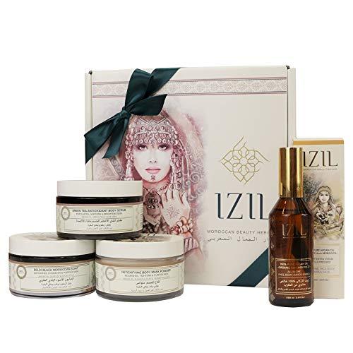 Izil Beauty Body Cleaning & Clarifying Set- Detox