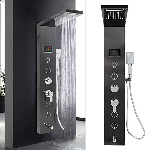 Accesorios de ducha ducha de lluvia juego de accesorios de ducha panel...