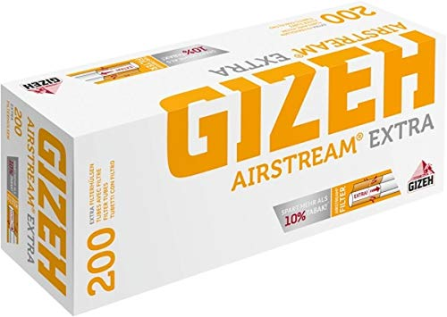 1000 (5x200) GIZEH Airstream® EXTRA (Hülsen, Filterhülsen, Zigarettenhülsen)
