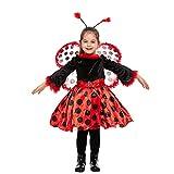 Halloween dress up costume for Child Girl Ladybug (Small (5-7yr))