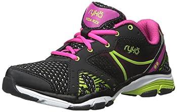 RYKA Women s Vida RZX Training Shoes Black Pink/Lime Blaze 9