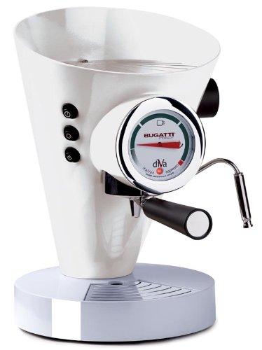 Bugatti DIVA - Espresso Machine White