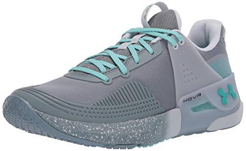 Under Armour Women's HOVR Apex Cross Trainer, Hushed Turquoise (300)/Hushed Turquoise, 8