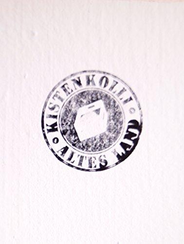 Kistenkolli Altes Land Weinregal 16er weiß/Natur/geflammt Maße 40x40x27cm Regalkiste Flaschenablage Weinregal Apfelkiste/Weinkiste (Weinregal 16er weiß) - 2