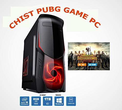 CHIST PUBG Best Pc Intel Core i3 3.3GHz H61 MB 120GB SSD 1TB Hard Disk NVIDIA GTX 2GB Graphic Card...
