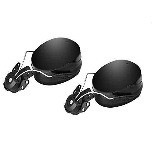 Orejeras de reducción de ruido de casco, accesorio de orejeras de protección auditiva insonorizadas con almohadilla de espuma de alta densidad, adecuado para varios cascos de seguridad industrial