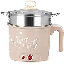 jgh Wok Électrique Multi-Fonctions Poêle Électrique Mini Étudiant Dortoir Pot Cuisinière Électrique Cuisson Riz Nouilles P...