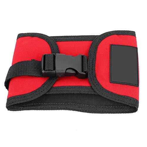 minifinker Paquete de Pesas de Buceo de 3 kg, para Envolver Objetos Pesados(Red)