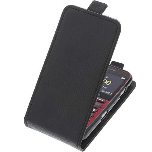 Tasche für Doro Primo 366 Smartphone Flipstyle Schutz Hülle schwarz