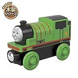 Mattel Thomas & Friends-Locomotora de Madera Percy, Tren de Juguete niños +2 años, Multicolor, 0 GGG30