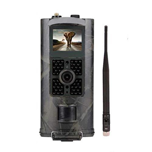 TLMYDD Cámara De Búsqueda De Senderos 16MP MMS SMTP SMS Cámara De Visión Nocturna Cámara Digital A Prueba De Agua GPRS Juego De Reconocimiento 120 Grados De Activación De Acción PIR Camara de Caza