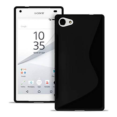 Handy-Hülle in Schwarz für Sony Xperia Z5 Compact | Ultra-Slim Case | S-line