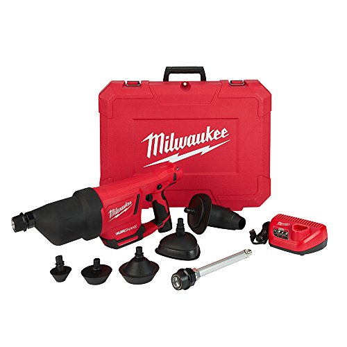 Milwaukee 2572B-21 M12 AirSnake Drain Cleaner Air Gun Kit-B