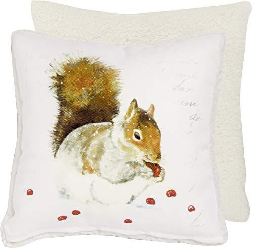 Ihr Winter Gefühl Kleinen Platz Kissen–Hazel Eichhörnchen