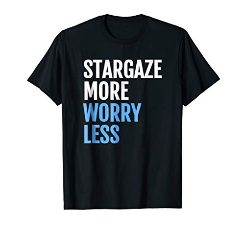 Star gazer T shirt gift idea