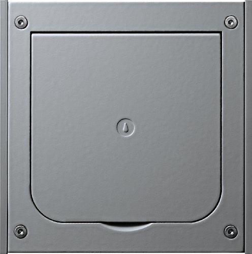 Gira 011800 lege vloerbehuizing inbouw aluminium gegoten