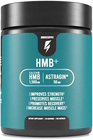 Inno Supps HMB 1500mg HMB Beta Hydroxy Methylbutyrate 50mg Astragin Enhanced Absorption Per product image