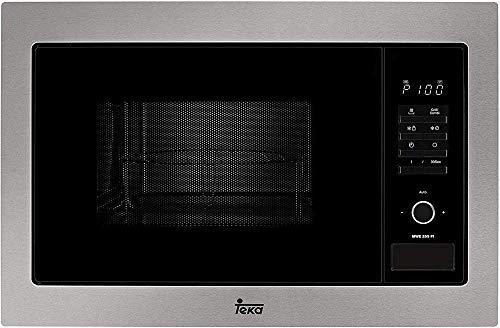 Teka MWE 255Fi–Mikrowelle mit Grill, 1450W, grau/schwarz