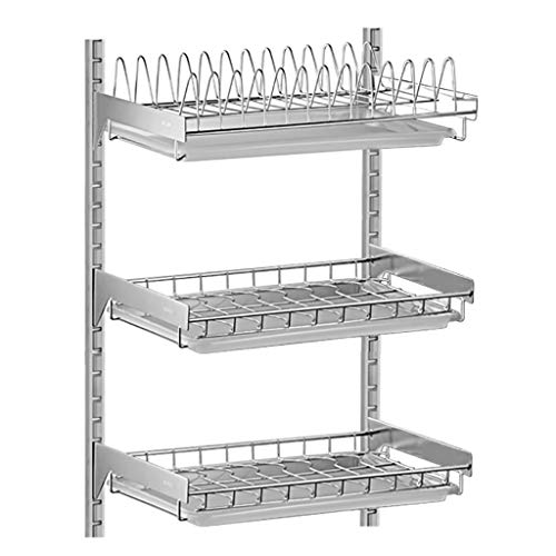 Stainless Steel Dish Drying Rack 3 Tier, Hanging...