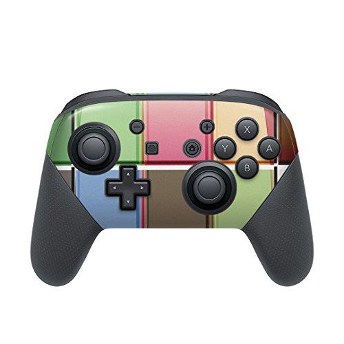 igsticker Nintendo Switch 用 PROコントローラ 専用スキンシール ニンテンドー スイッチ プロコン 専用 デザインスキンシール 全面セット カバー ケース 保護 フィルム ステッカー デコ アクセサリー その他 タイル カラフル