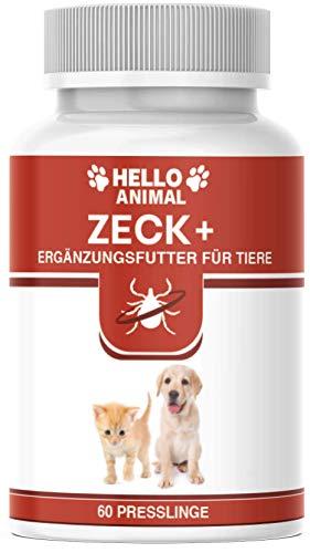 NEU: HelloAnimal® Anti ZECKEN Presslinge für Hunde und Katzen mit Sofortwirkung – natürliche Behandlung für Ihr Haustier – Schutz hochwirksam