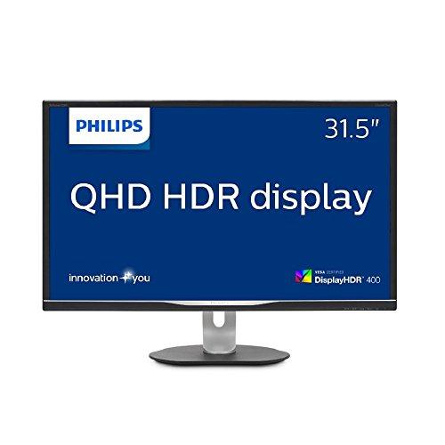 PHILIPS ディスプレイ 31.5インチ (「Display HDR 400」認証モデル/USB Type-C/HDMI/IPS) 328P6AUBREB/11