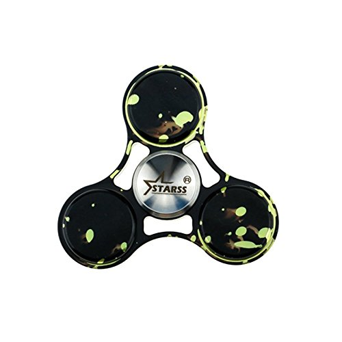 Starss Stay at Home Toy Aluminum Fidget Spinner with Fast Detachable R188 Bearing Fingertip Decompression Toy