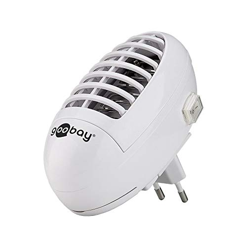 Uv-led-insectenverdelger voor stopcontact, bescherming tegen muggen, vliegen, insecten, elektrische insectenafweer, wit