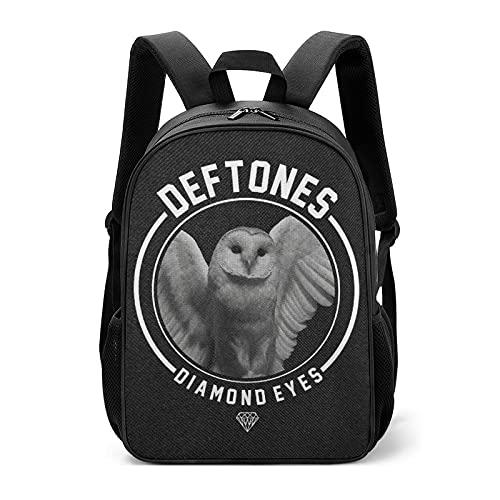 Deftones Diamond Eyes Sac à dos pour enfant Grand sac à dos pour l'école, le sport, les voyages, la rentrée scolaire pour enfants, cadeaux pour garçons, filles, adolescents